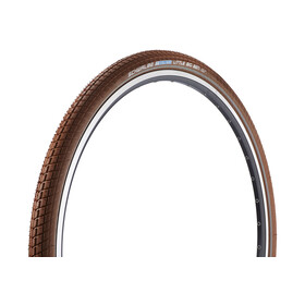 "SCHWALBE Little Big Ben Sykkeldekk Active 28"" Twin kanttråd Brun"